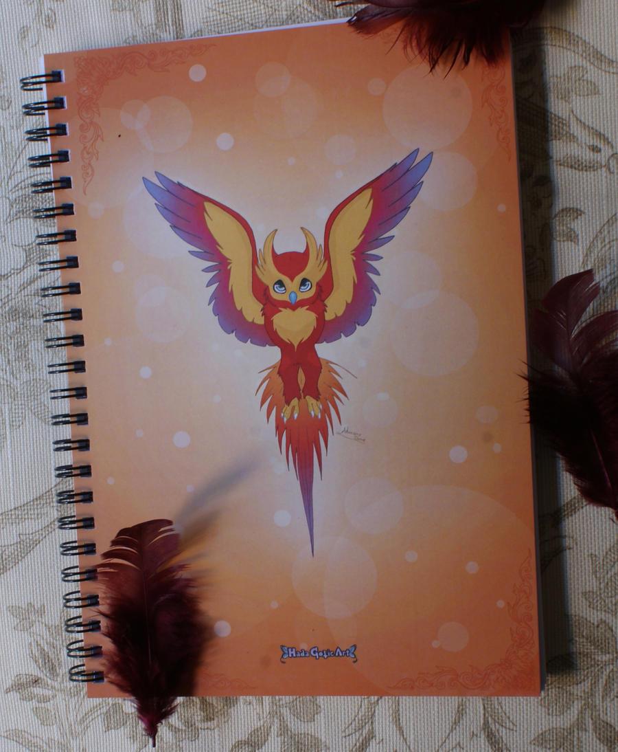 Phoenix Notebook by MySweetQueen