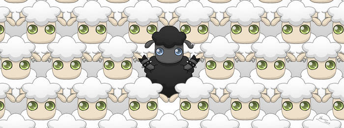 To be the Black Sheep