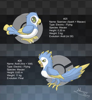 Fakemon: 25 and 26