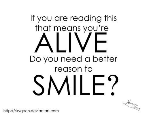 Good Reason to Smile
