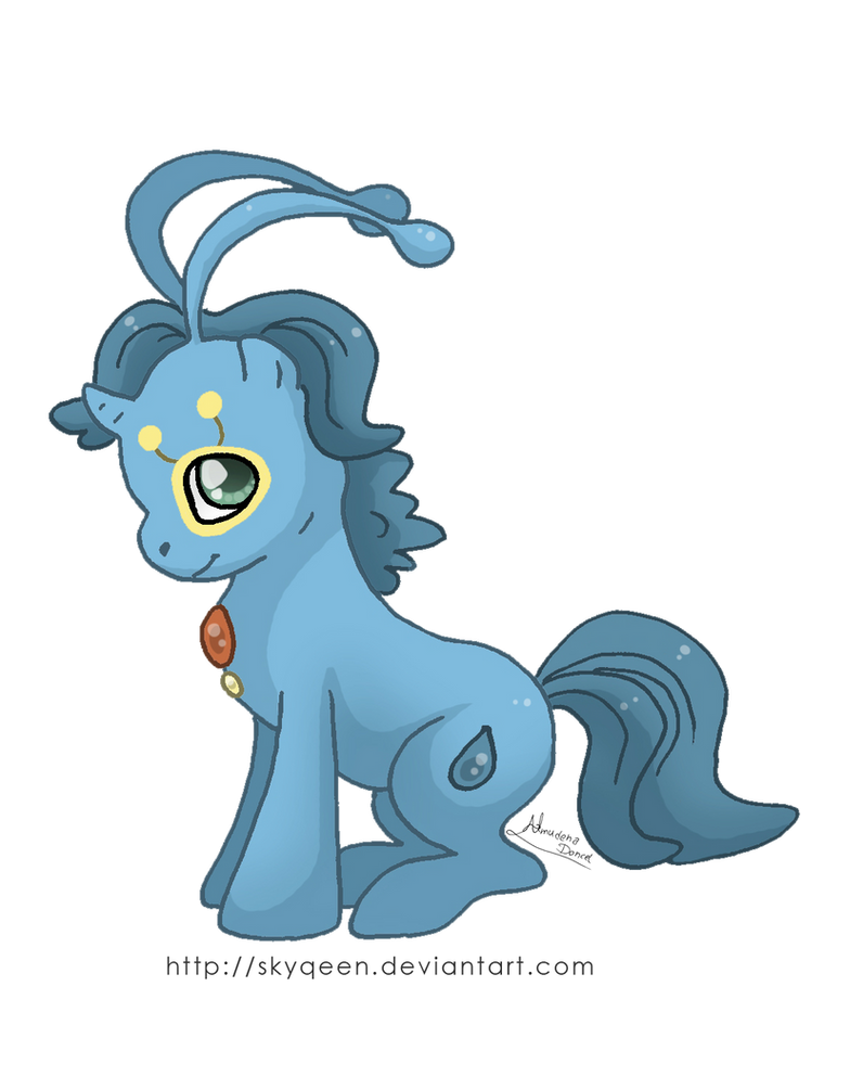 Ponikemon Manaphy by MySweetQueen