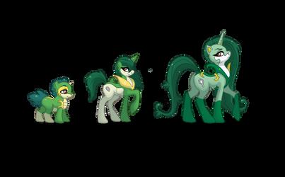 Regal Family Ponikemon by Almairis