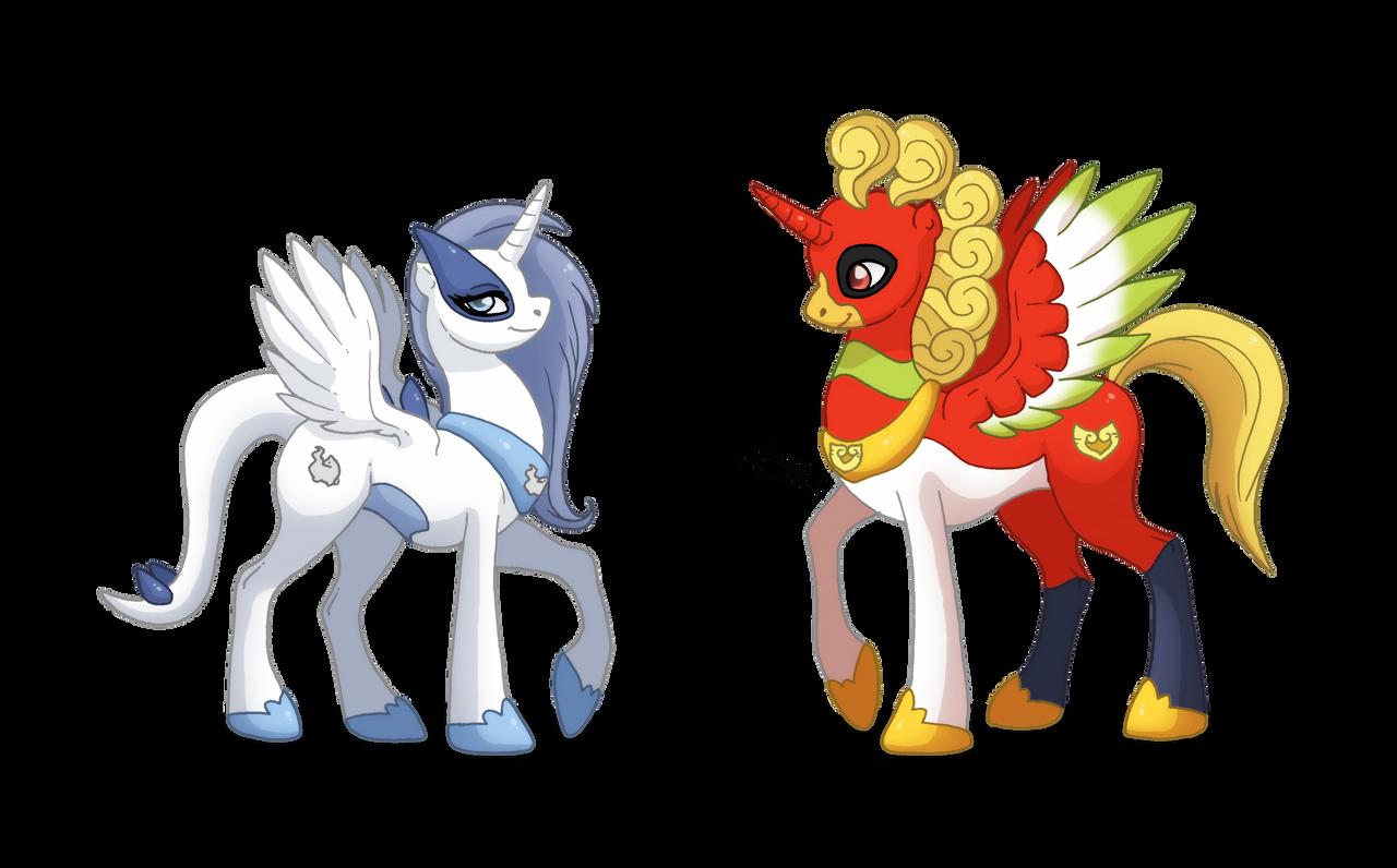 Ponikemon Duo of Johto by MySweetQueen