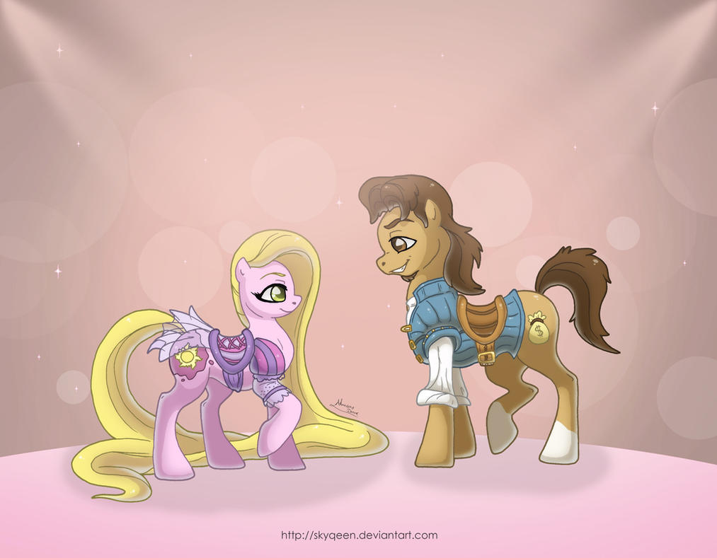 My Disney Pony: Rapunzel by MySweetQueen