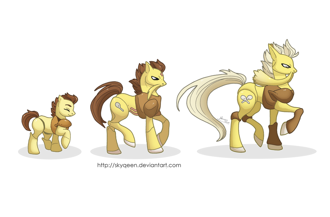 Psi Family Ponikemon by MySweetQueen