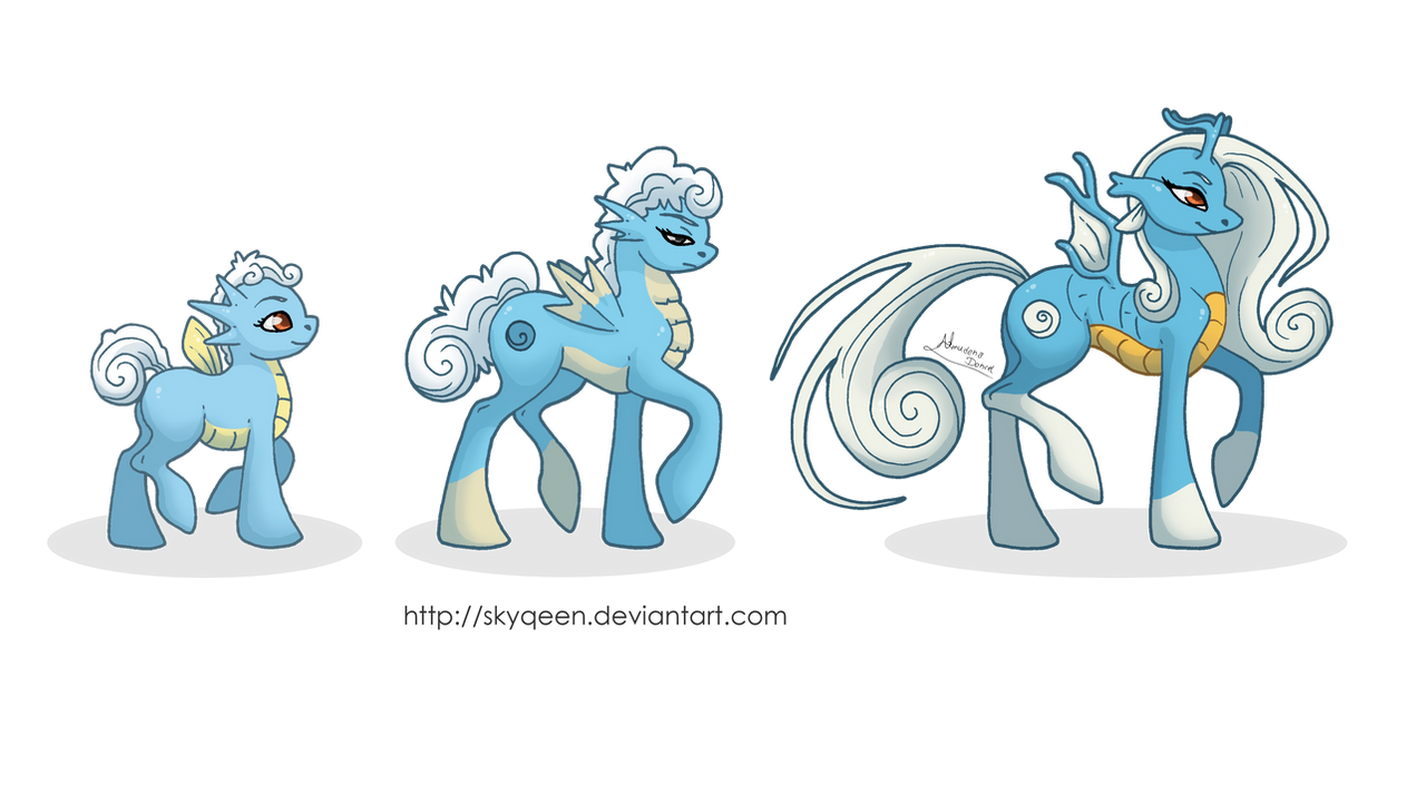 Seahorse Family Ponikemon by MySweetQueen