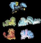 [Closed] Adoptables: Elemental Kirins