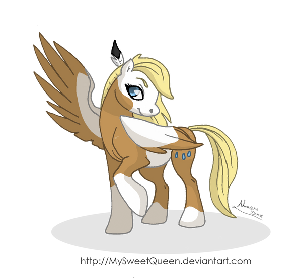 Pegasus Rain by MySweetQueen