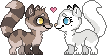 Koji x Aurora Pixel Icons (Free to Use) by MySweetQueen