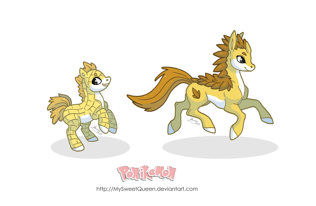 Ponikemon Sandy Family by MySweetQueen