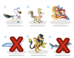 [SOLD] Adoptables: Fantasy Creatures