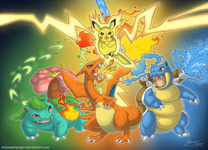 [+VIDEO!!] Kanto Starters
