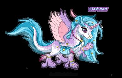 [OPEN] Adoptable: Starlight Dragon by Almairis