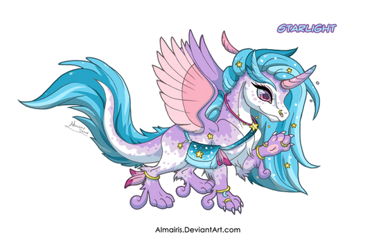 [OPEN] Adoptable: Starlight Dragon