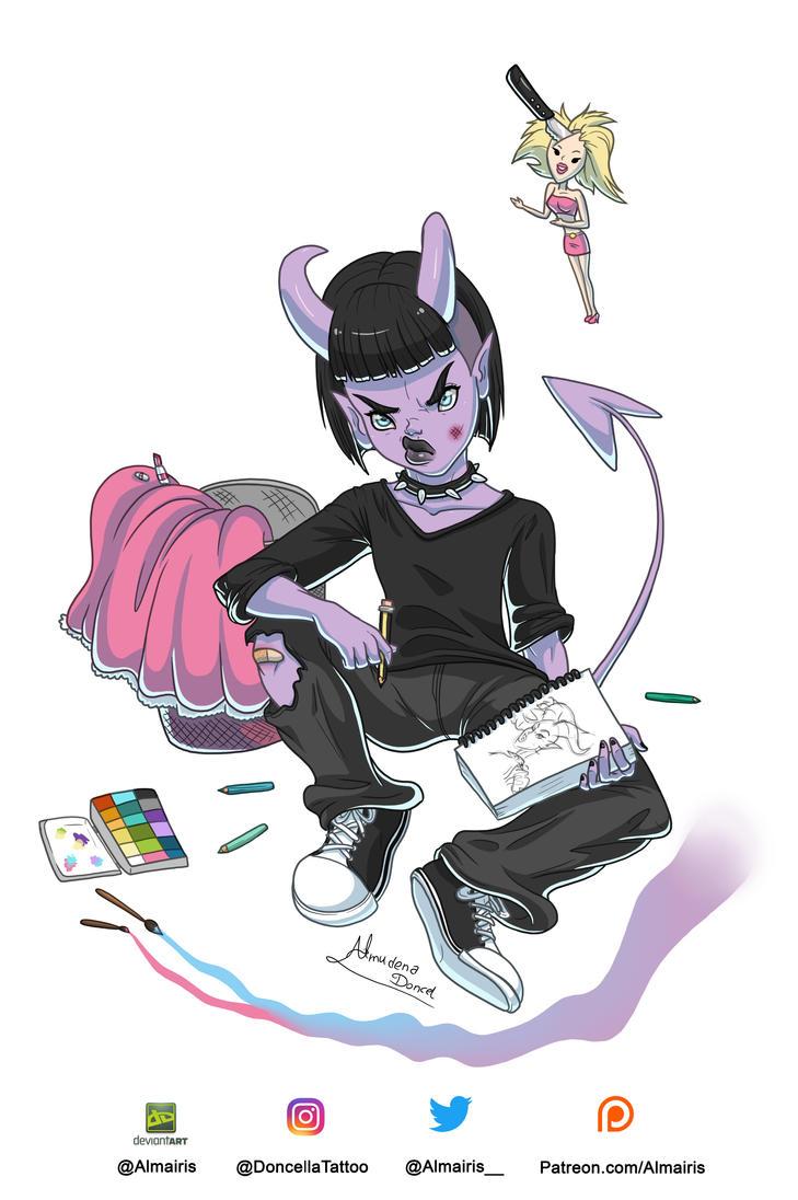 Twisted Princess: The Origin by Almairis
