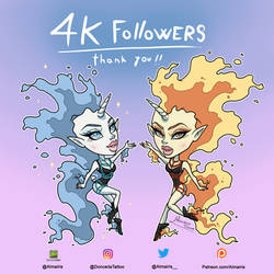 4k Followers on Instagram