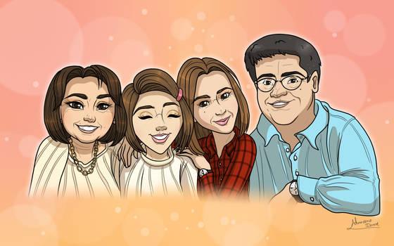 Commission: Family Portrait for Teresa