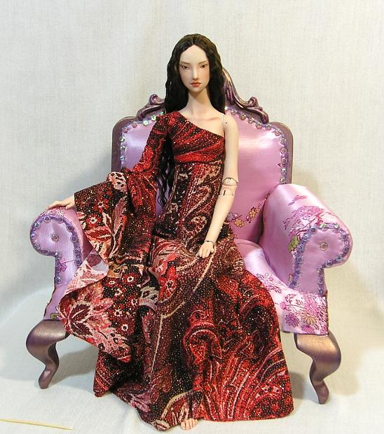 Geisha sitting by MarynaS