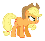 Applejack Vector - Mad