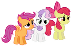 Cutie Mark Crusaders - Vector
