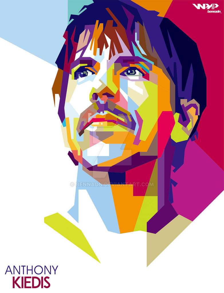anthony kiedis red hot chili peppers wpap by bennadn on deviantart. Black Bedroom Furniture Sets. Home Design Ideas