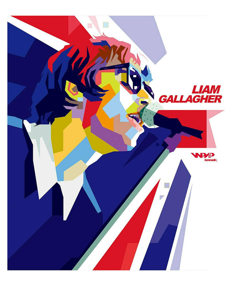 Liam Gallagher WPAP by bennadn