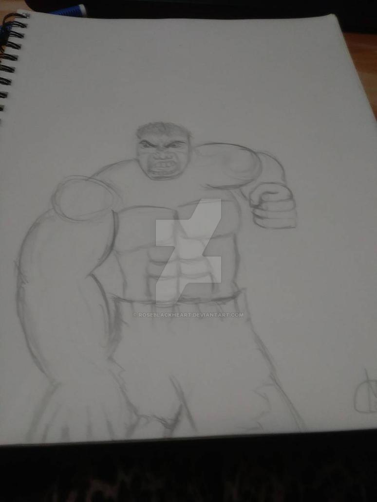 sketch by RoseBlackHeart