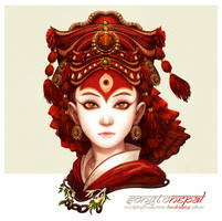 Kumari Devi by narm