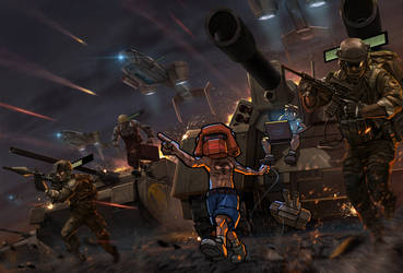 Command and Conquer : Brotherhood of mine