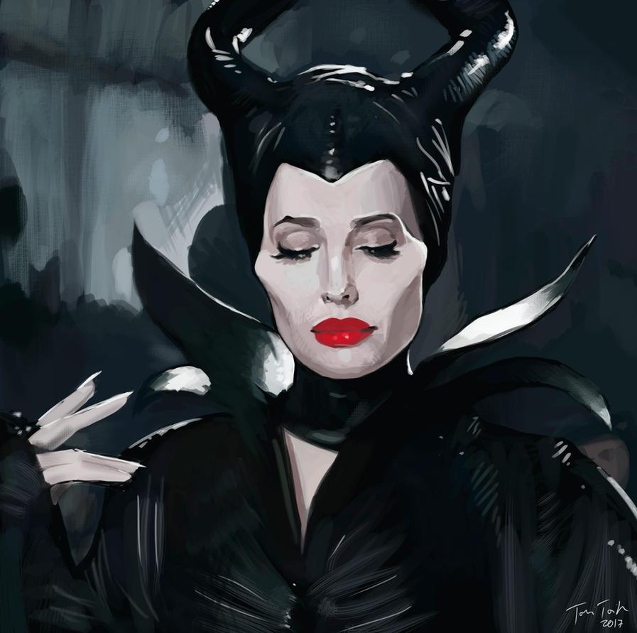 Maleficent by mucho13