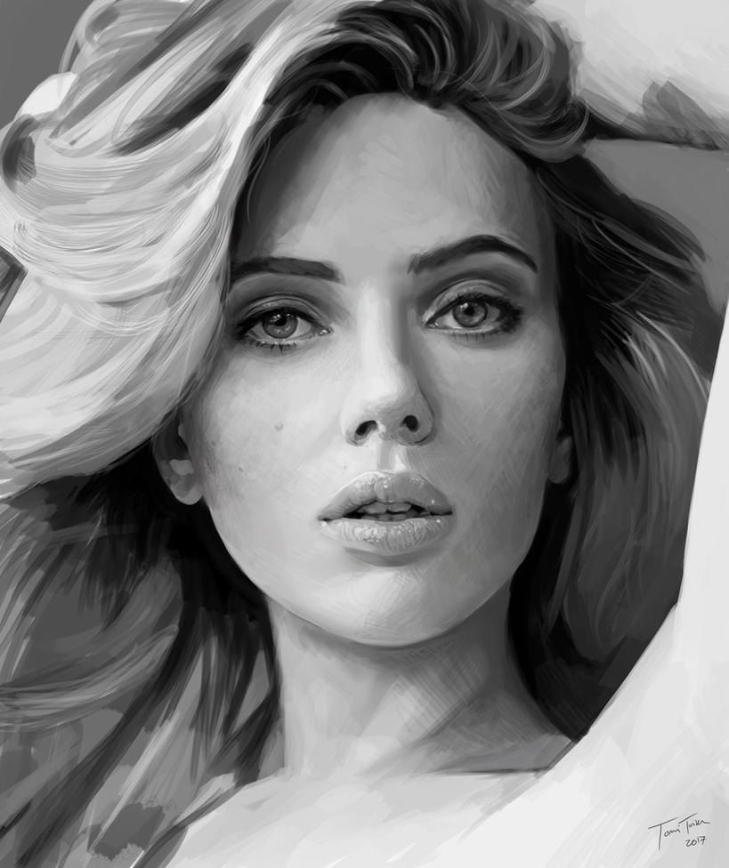 Scarlett Johansson - Study by mucho13