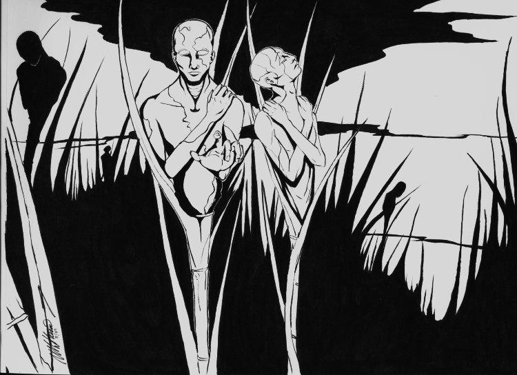 Dark Harvest by Kupenda-Damu