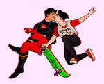 timkon skater boys by Ebenaceae