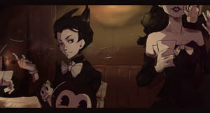 Alice Angel and Bendy ^^