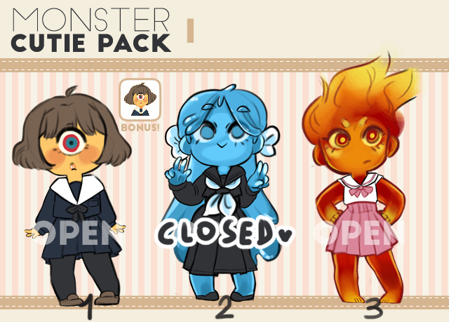 h__monster_cutie_pack_i__open__by_antiqu