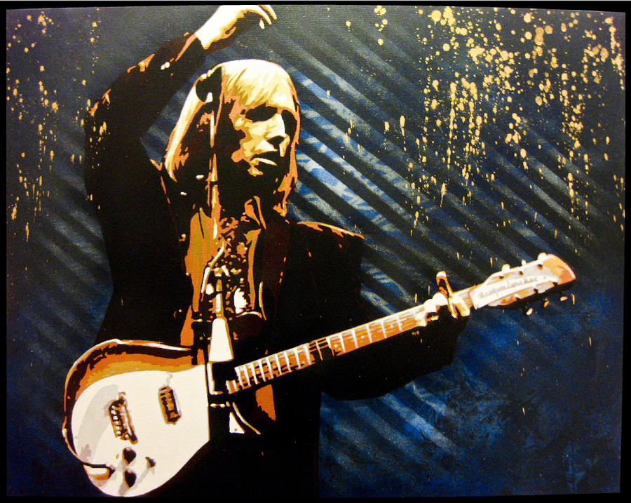 Tom Petty by bobbyzeik