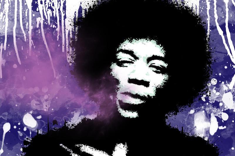 Jimi Hendrix Purple Haze Wallpaper Purple Haze Hendrix by