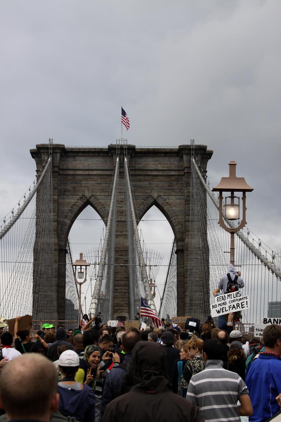 Occupy Wall Street 8 by Radio-Schizo