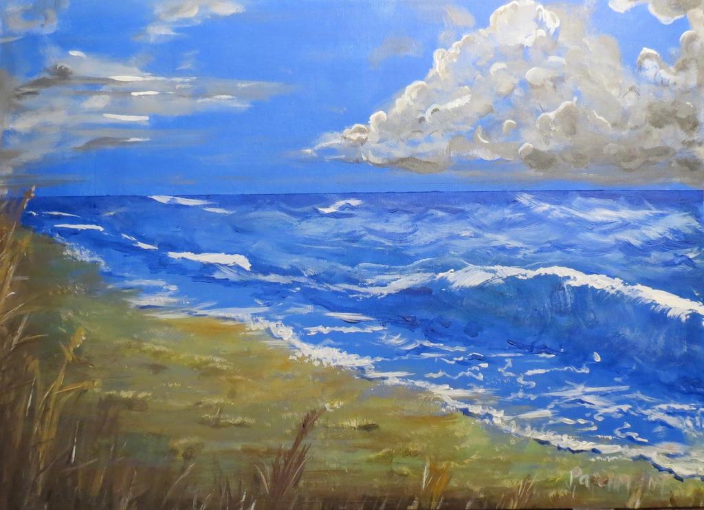 Welsh Beach by BlackBeltJonzey
