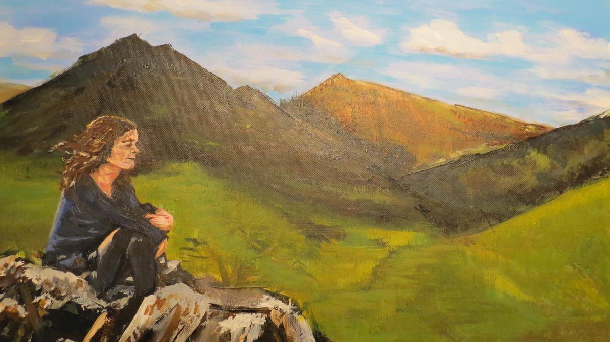 Leonie Mountains by BlackBeltJonzey