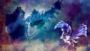 Kingdom Hearts Birth By Sleep Aqua by saphira-wine