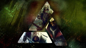 Assassins Creed Wallpaper: Ezio, Connor, Altair by saphira-wine