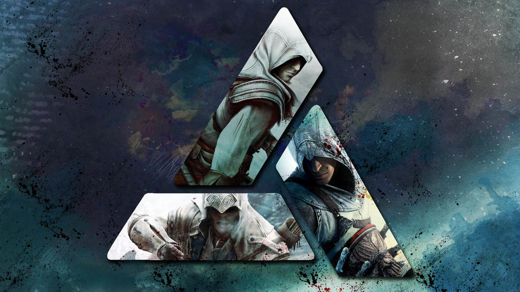 Assassins Creed Wallpaper 5 Altair Ezio Connor By Saphira Wine