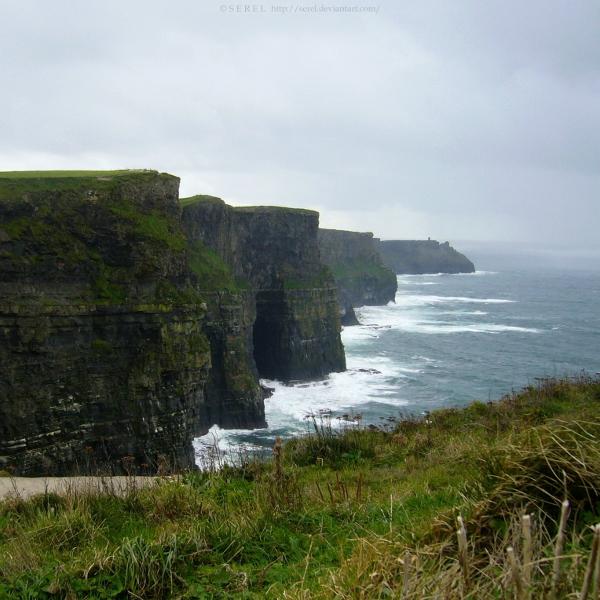 The Cliffs III by serel