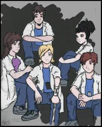 Hospital Group Simple Sketch