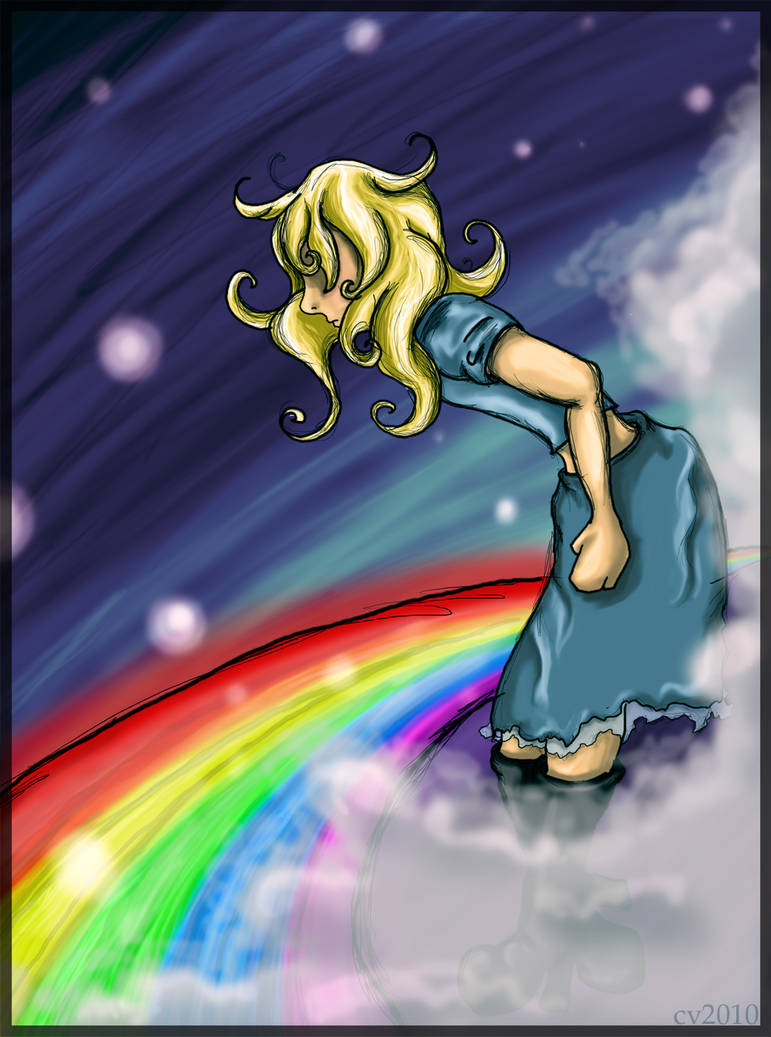 Rainbow Blonde