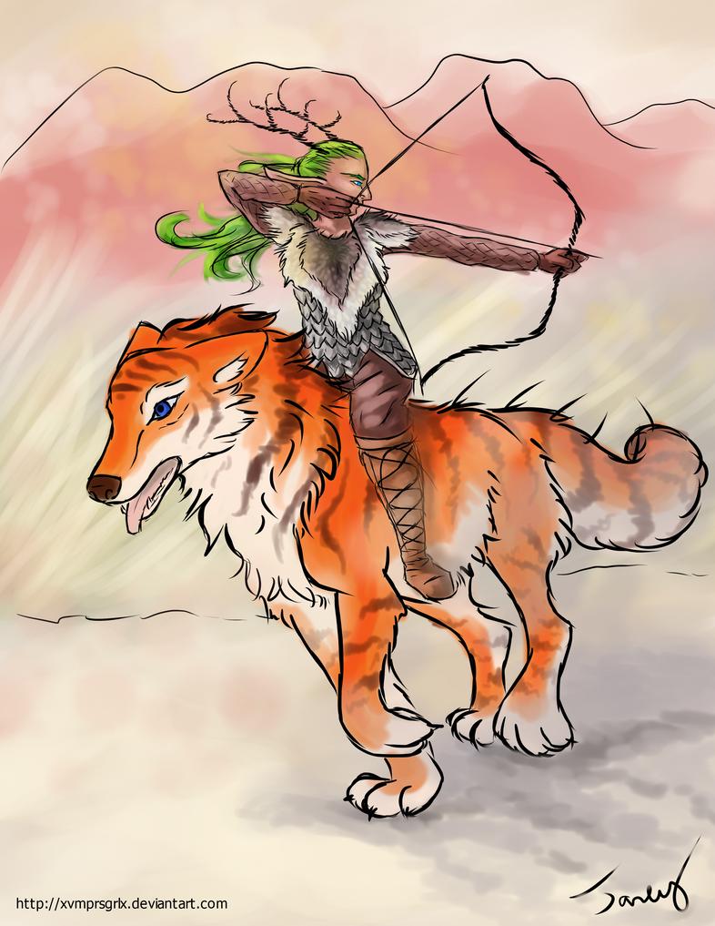 Ride into Battle by xvmprsgrlx