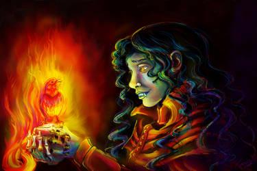 Firebird Loves Dhampir
