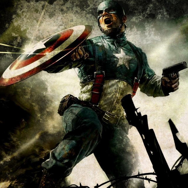 Captain America by REDSkill3t