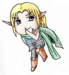 Hidoran, the High Elf Prince (Chibi)
